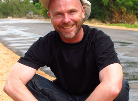 Dr. Nigel Crawhall is an Engaged Buddhist Working on Ocean Issues