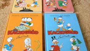 W świecie Kaczora Donalda i komiksów Carla Barksa oraz  komiksy Dona Rosy.