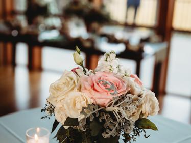 Photographer - Ashly Collins Photography  Florist - Gillespies Florist, White Sulphur Springs, WV