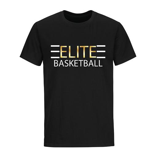 ELITE 1 Black Dri-Fit with Gold Lettering
