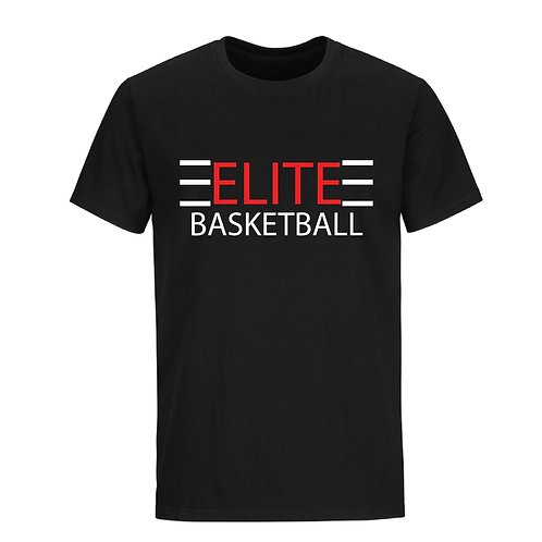 ELITE 1 Black Dri-Fit with Red and White Lettering