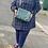 Thumbnail: Vintage Dumpling Women PU Leather Tote Bag.