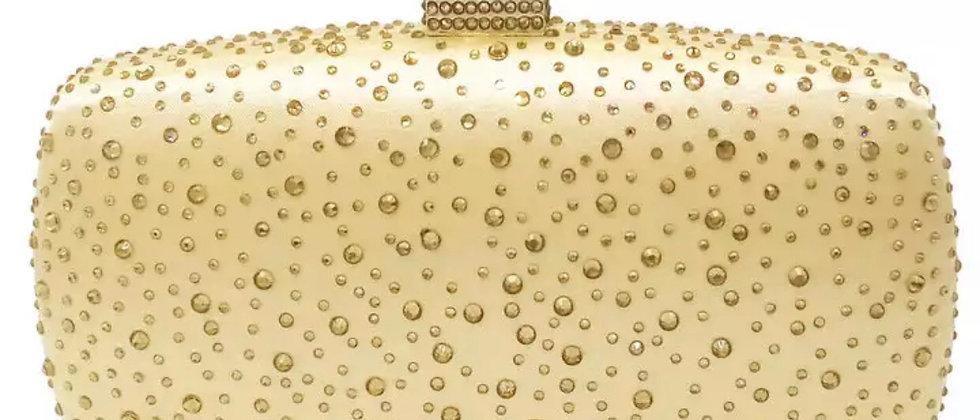 Diamanté Crystal Evening Clutch Bag