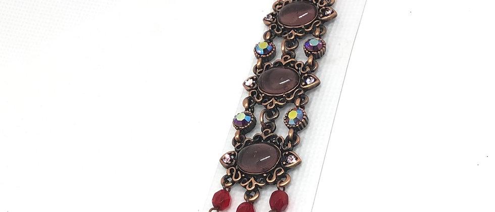 Bronze Antique Vintage Design Bracelet