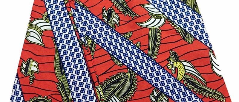 Flying Bird Super African quality Dutch Wax Print Fabric