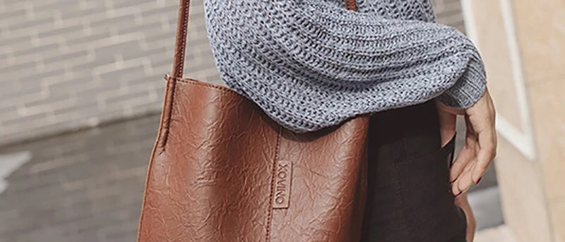 Tide Bucket Casual Single Strap Shoulder Bag