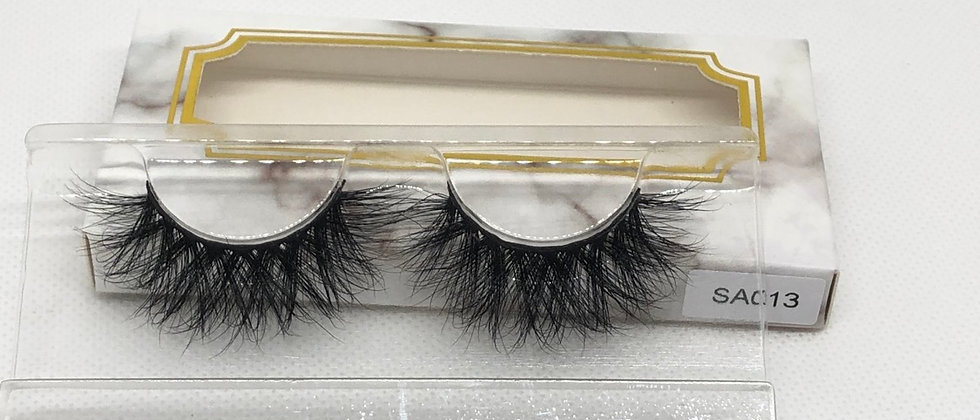 Drama Volume Natural Looking 3D Mink False Eyelashes