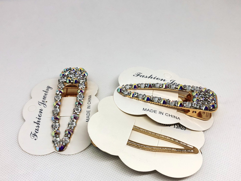 Thumbnail: 1PCS Luxurious Crystal Diamanté Hair Clip