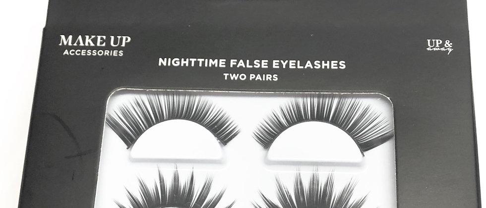 2 Pair Of Luxurious Nighttime False Eyelashes