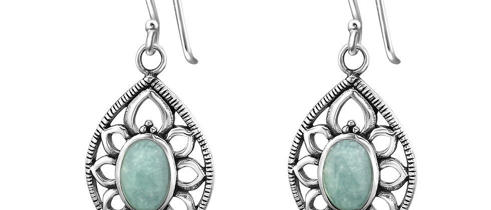 Amazonite Sterling Silver Dangle Earring