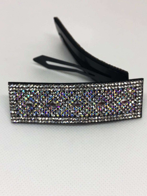 Thumbnail: 1PCS Crystal Diamanté Bling Bling Hair Clip