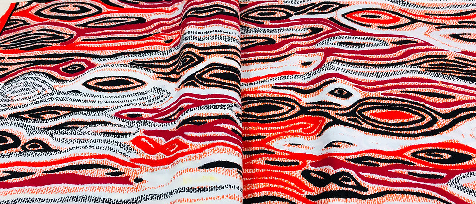 DaViva High Quality African Wax Print Fabric