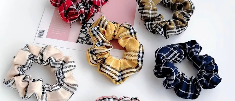 Classic Hair Scrunchie Fabric Hair Scrunchie