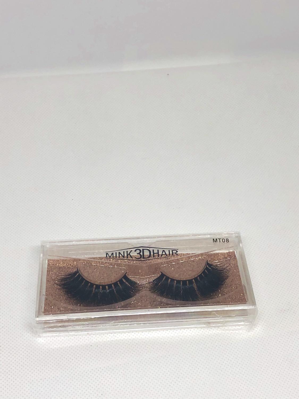 Thumbnail: Dramatic 3D Mink Hair Natural Looking Long Eyelashes