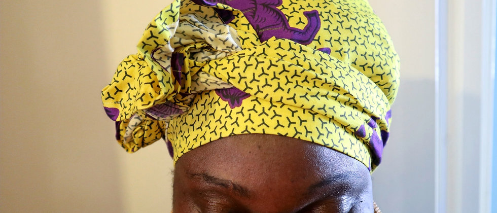 Ankara Headwrap African Print Head Wrap African Head Scarf