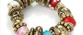 Antique Look Bead Bracelet