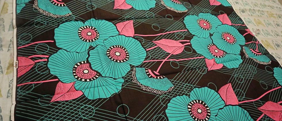 African Print, Ankara Fabric, African Print Fabric, Ankara Wax fabric 6 Yards