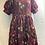 Thumbnail: Sophias Fab Puff Sleeves Ankara Gathered Dress With Contrast Sleeve Handmade