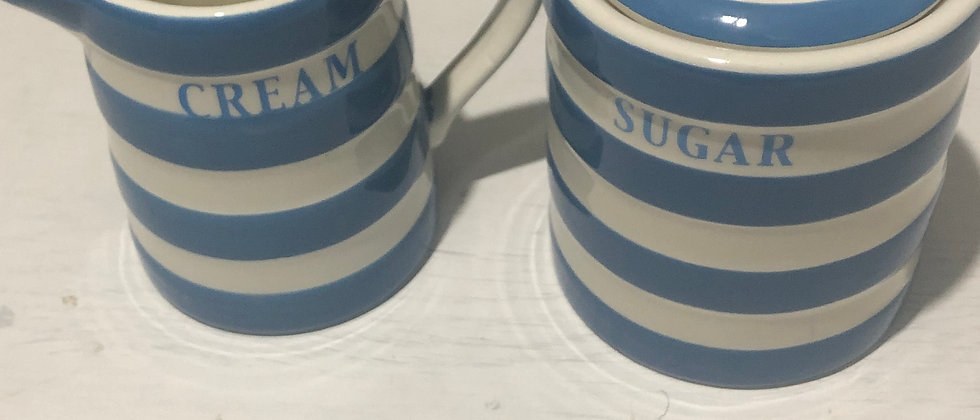 Cream and Sugar Set, Sugar and Creamer Jar Set