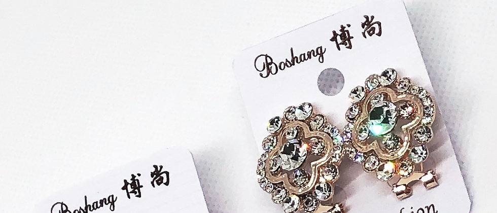 Diamanté's Crystal Stud Earring