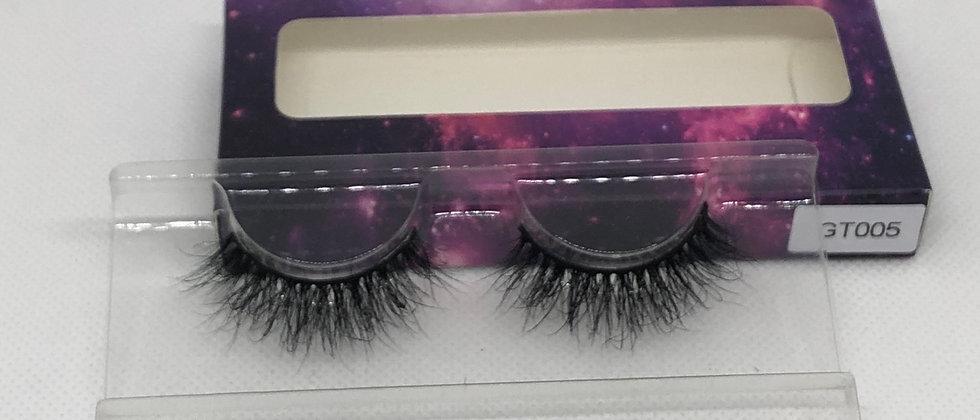 Flick On 3D Mink Hair Natural Looking False Eyelashes