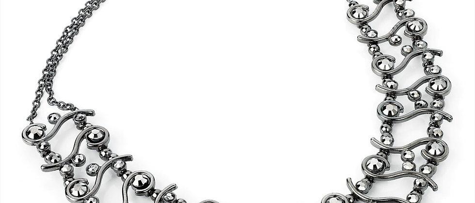 Black Diamanté Necklace