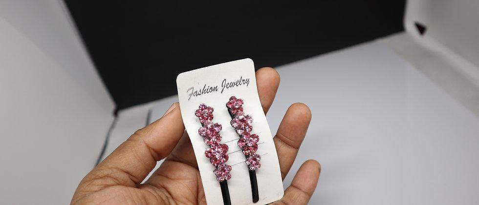 2PCS Diamanté Hair Pins