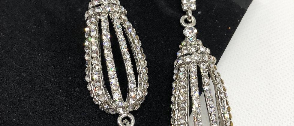 Fabulous Crystal Drop Earring