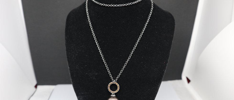 Fiorelli Jewellery Hematite Pendant Necklace