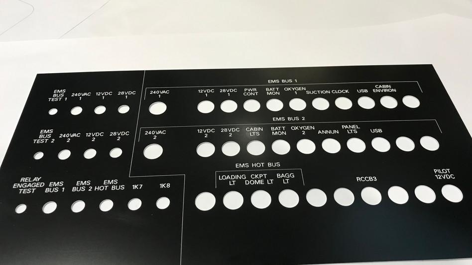 Panel Engraving