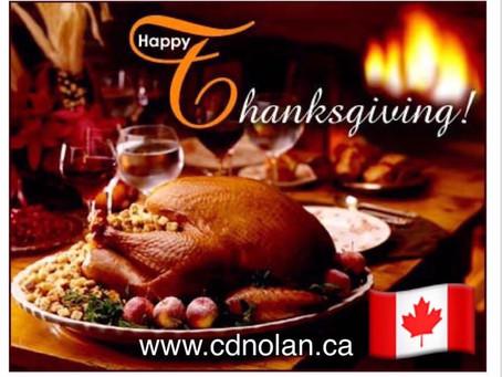 Happy Thanksgiving ! 🇨🇦