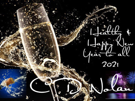Healthy & Happy New Year to All ! 🍾 2021