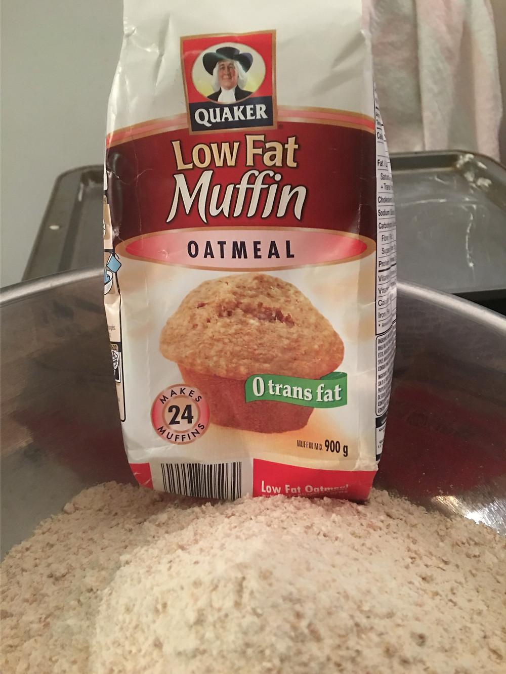 Quaker Oatmeal Muffin Mix