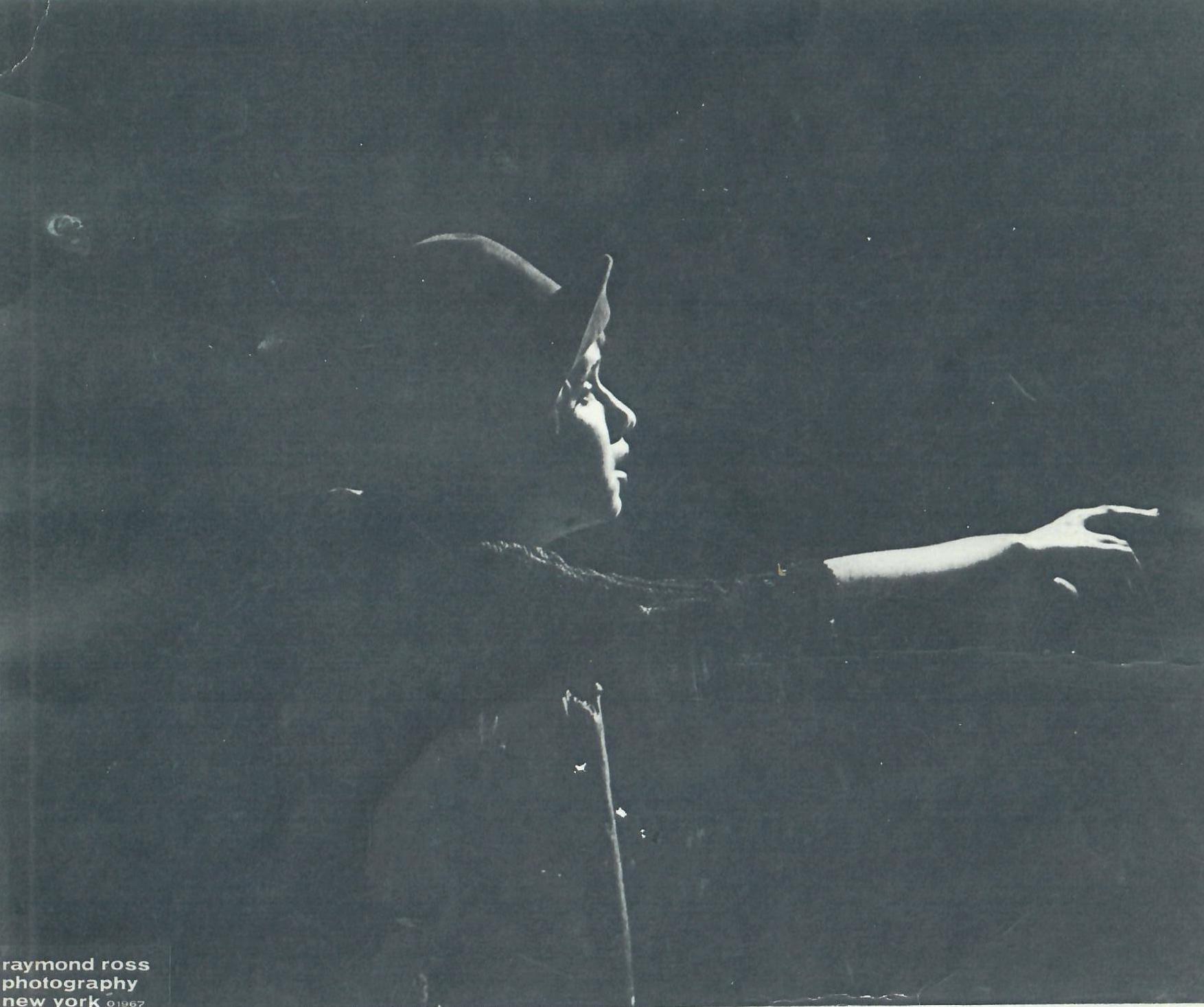 Constance Gruen as the Blind Man