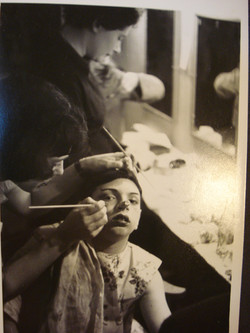 Muriel Painting Makeup on Pinocchio