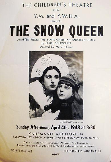 nThe Snow Queen flyer, April 4, 1948, ph