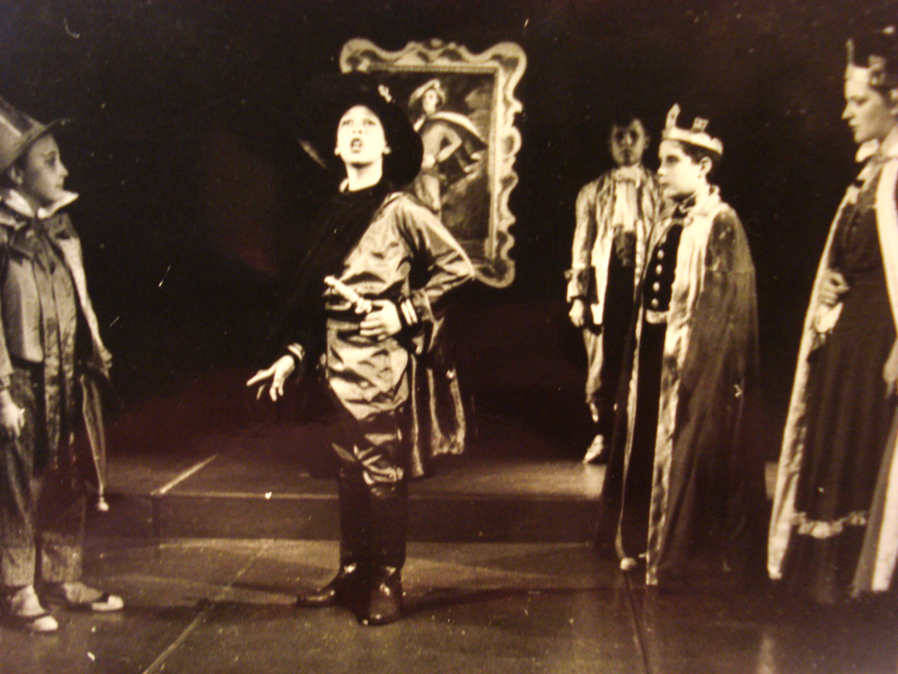 Eugene Pressman as The Blue Prince