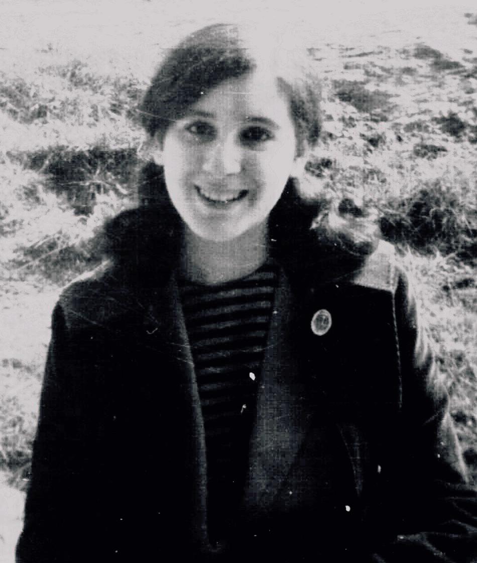 Ruth Katz as a teenager