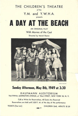 A Day at the Beach Flyer 1949