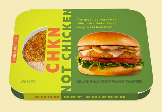 CHKN Not Chicken advertising/packaging; Jon Edwards & Associates Photography