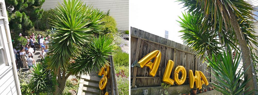 Tropical Birthday Party Decor - Tropical Decor