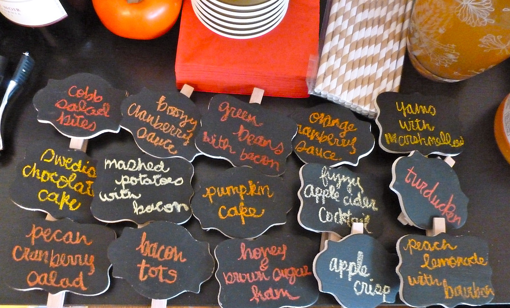 Thanksgiving Party Decor - Thanksgiving Dinner Ideas