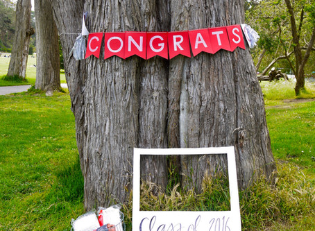 A Graduation Gathering in Golden Gate Park