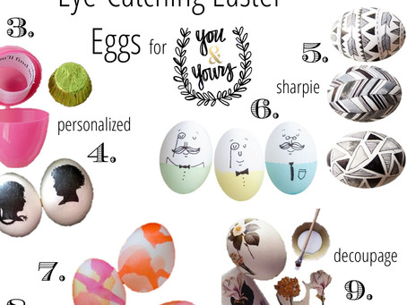 Eye-Catching Easter Eggs