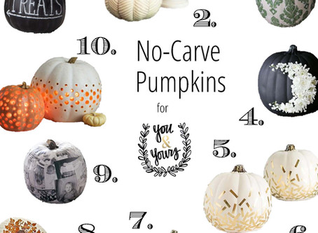 10 No-Carve Pumpkins