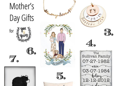 7 Mother's Day Gifts You Can Customize