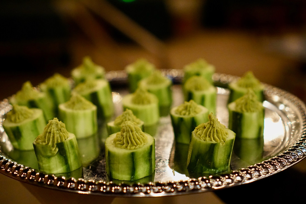 St. Patrick's Day party catering food