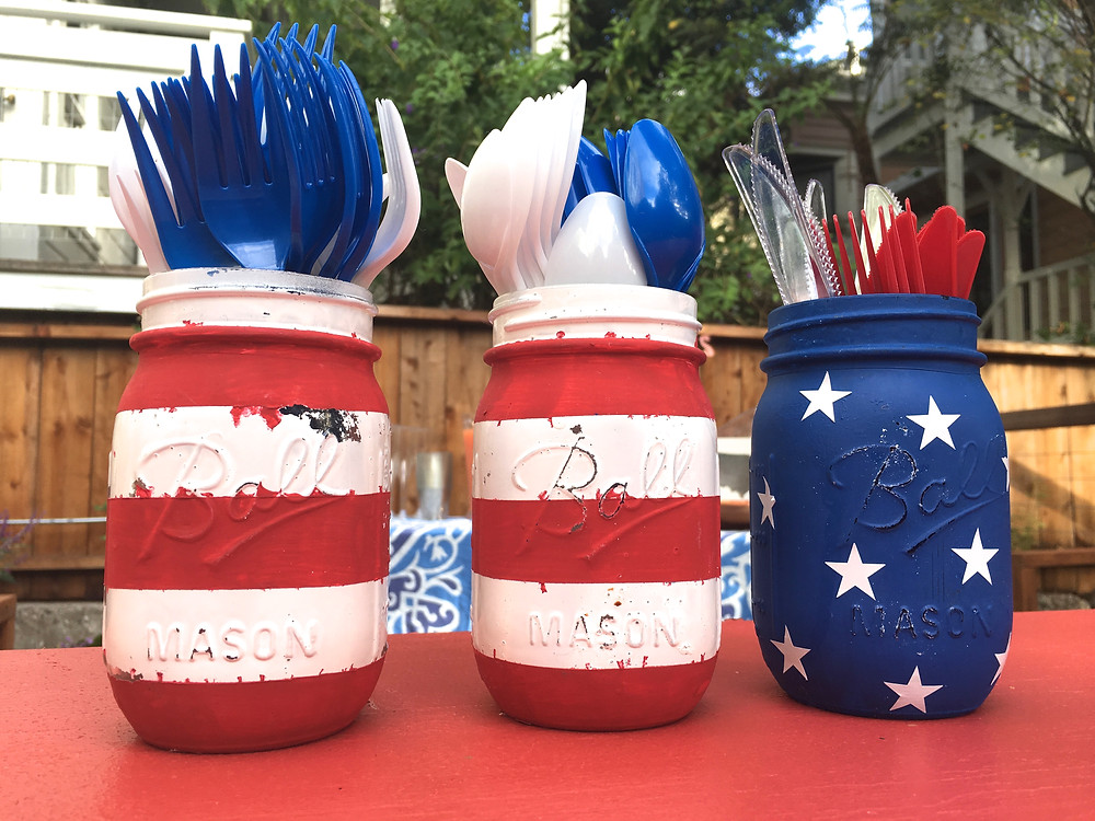 Fourth of July Party Decor - Red, White, and Blue Party - Patriotic Party Decor