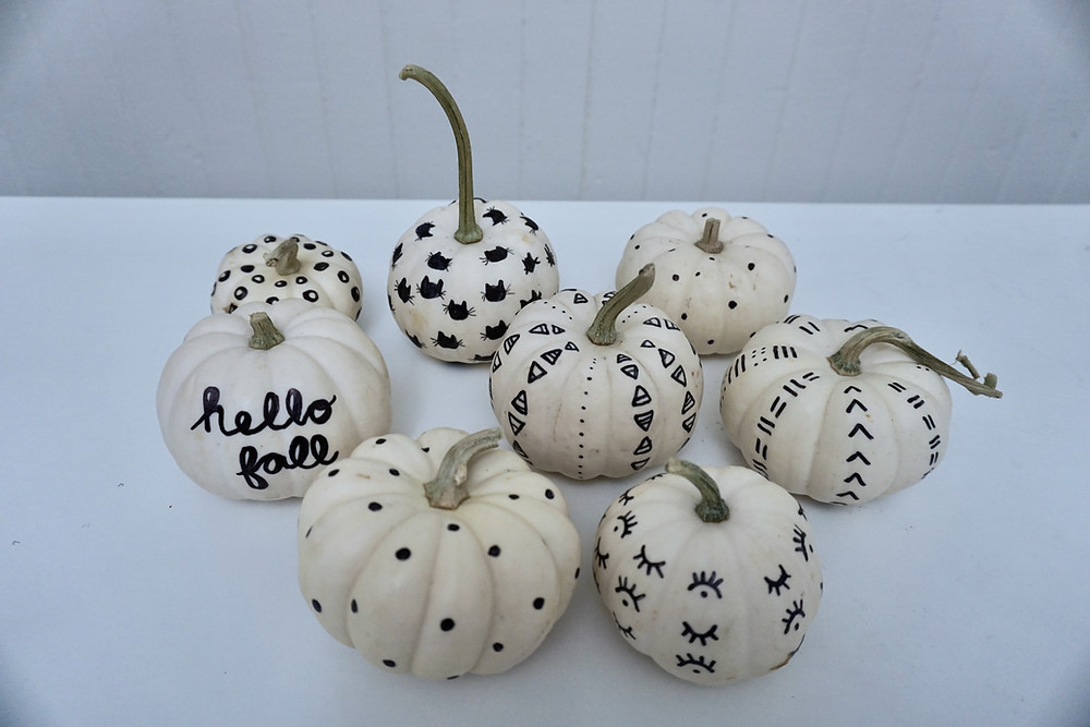 Pumpkin Decorating DIY - Fall Crafts