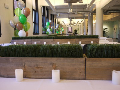 Hole in One - A Golf-Themed Retirement Party - Golf Party Decor